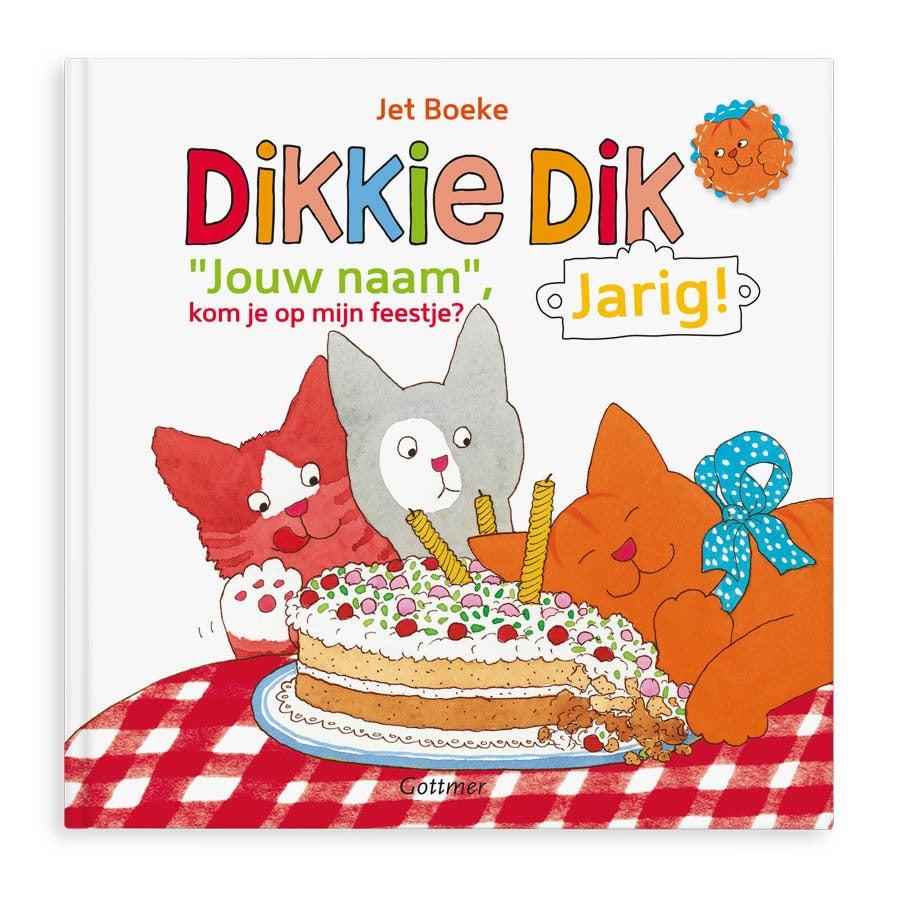 Boek met naam Dikkie Dik is jarig Hardcover