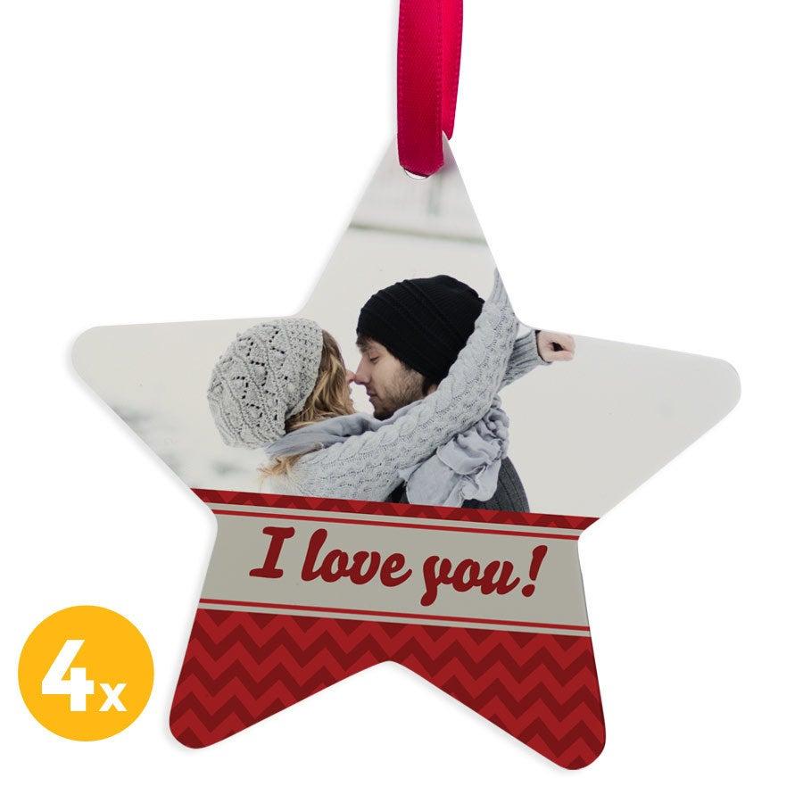 Christmas hanger alumiini - Star (4)