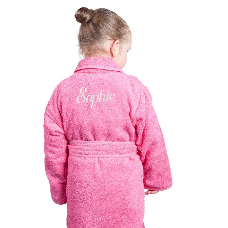 Individuellbadzubehör - Kinderbademantel Rosa (110 116) - Onlineshop YourSurprise