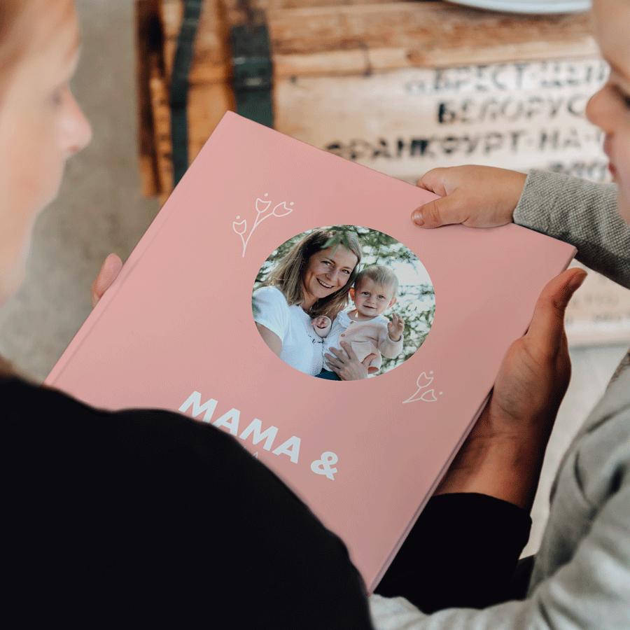 Momenten fotoboek maken - Mama & ik/wij - XL - Hardcover - 40 pagina's