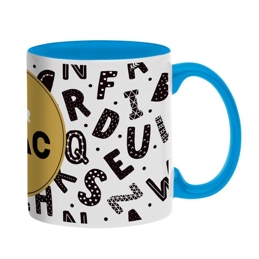 Name mug - Blue