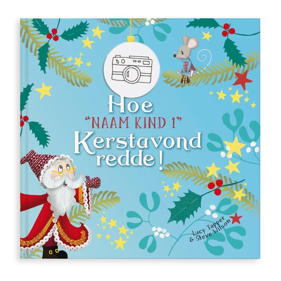 Boek met naam - Hoe Kerstavond werd gered - Hardcover