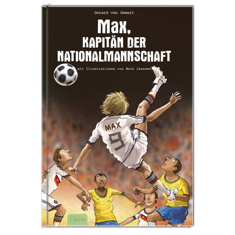 Personalisiertes Buch - Kapitän der Nationalmannschaft - WM Version - Hardcover