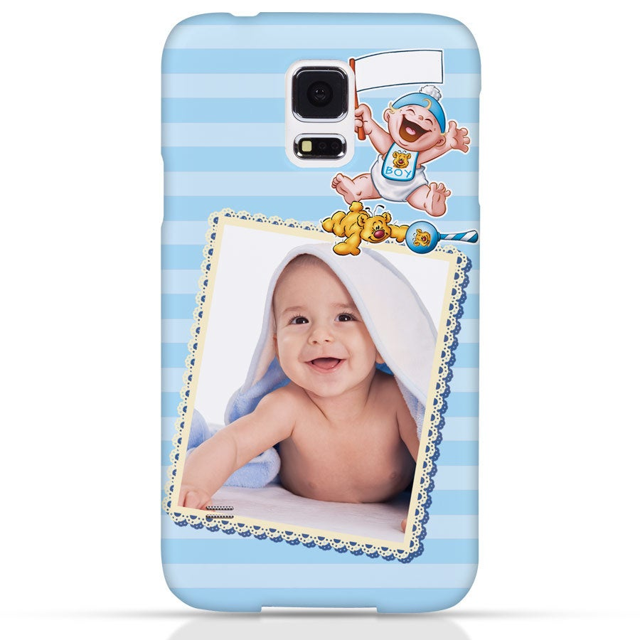 Doodles - Samsung Galaxy S5 - Photo case 3D print