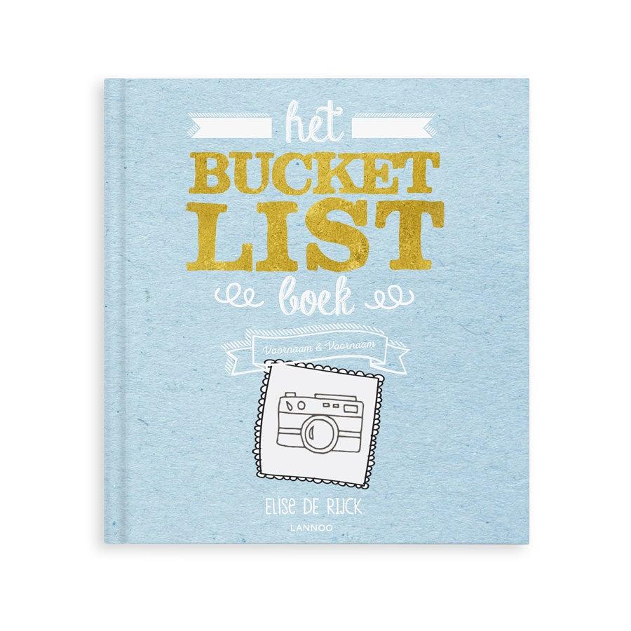 Het Bucketlist boek voor op reis - Hardcover