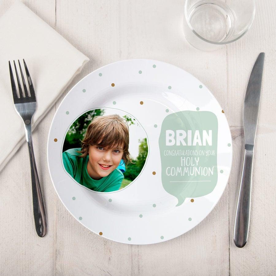Přijímací talíř