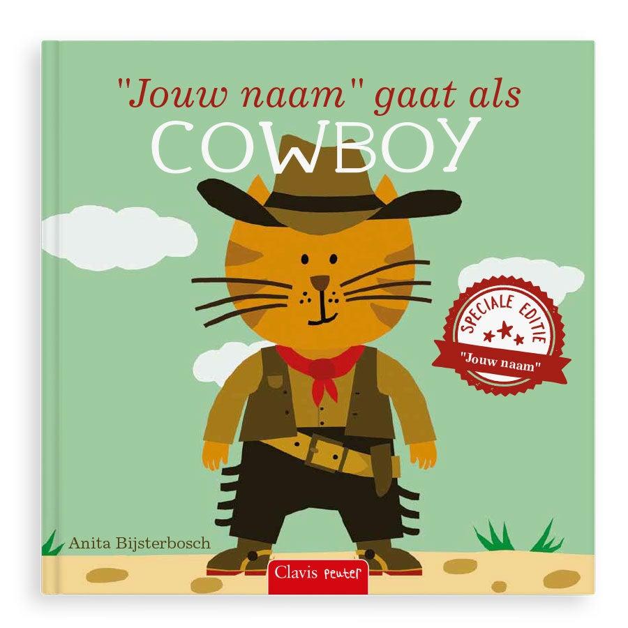 Boek met naam - Ik ga als cowboy - Hardcover
