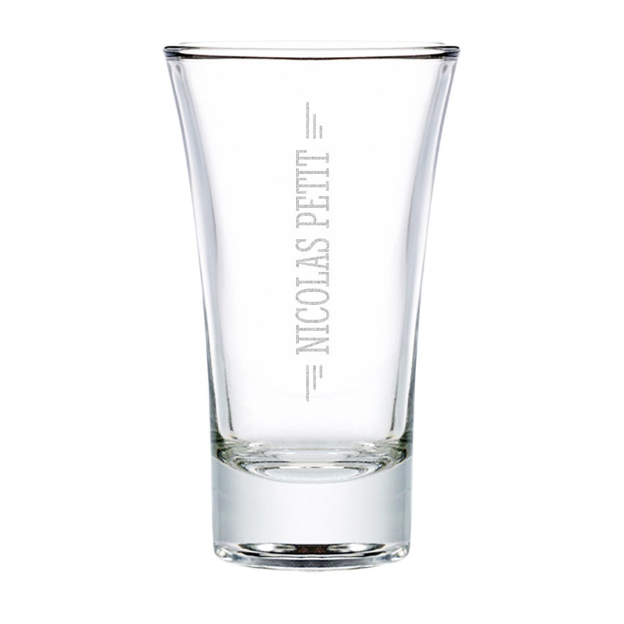 Verre à shooter