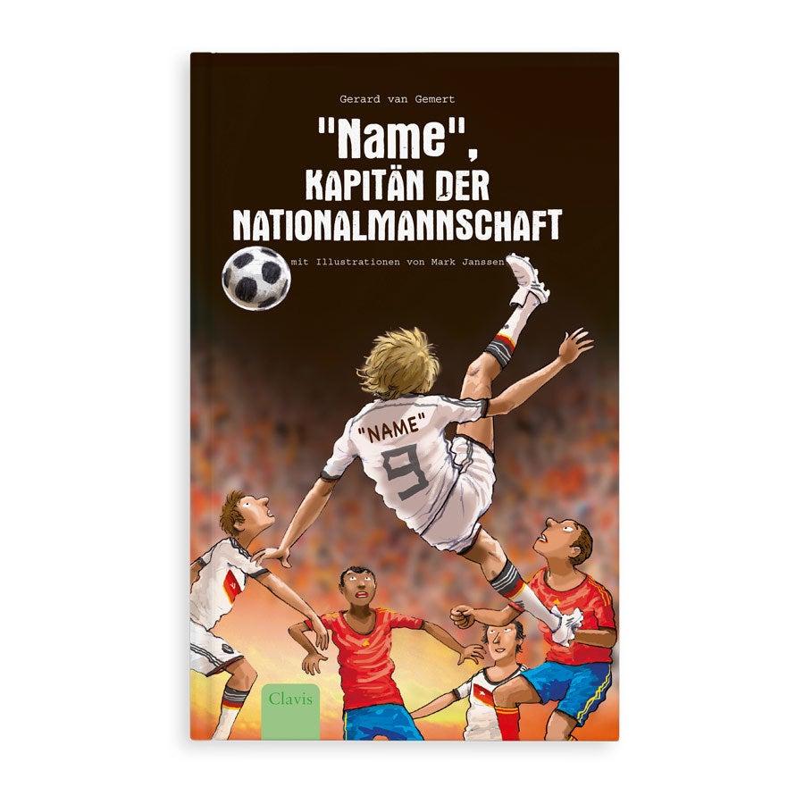 Jugendbuch mit Namen - Kapitän der Nationalmannschaft - Hardcover