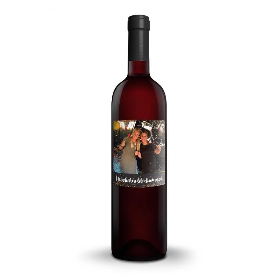 Wein mit eigenem Etikett - Riondo Merlot