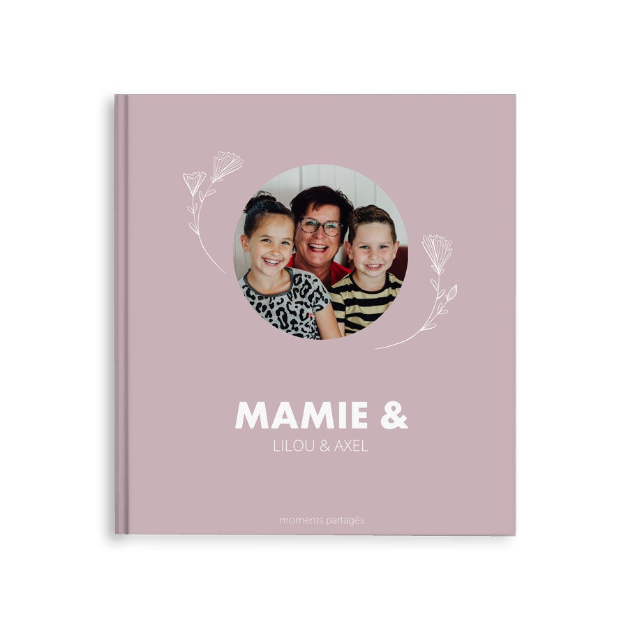 Album photo mamie - M - Couverture rigide - 40 pages