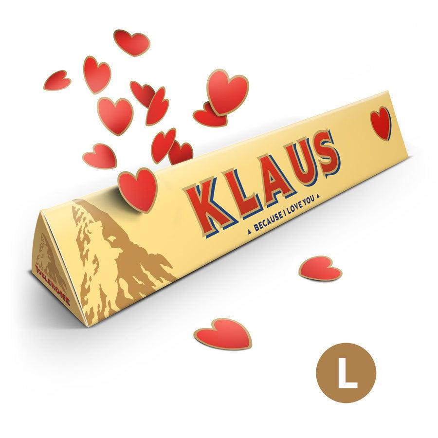 Toblerone Schokolade - Liebe (360 Gramm)