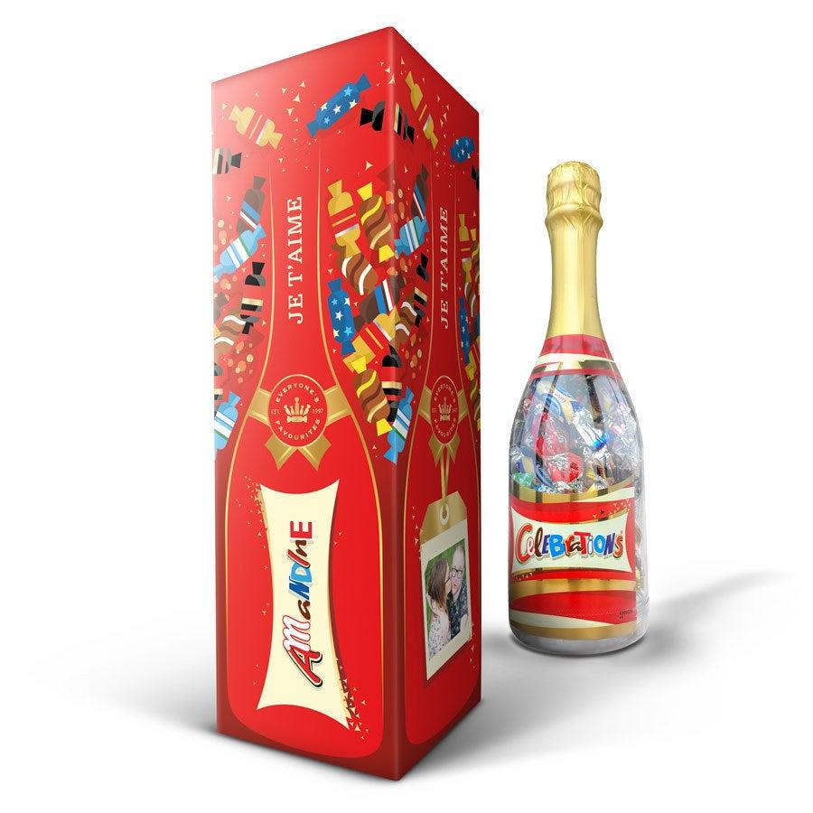 Celebrations chocolats en bouteille