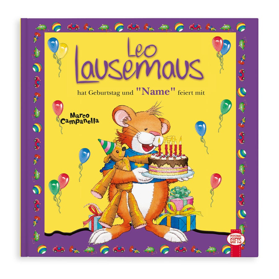 Individuellmedien - Leo Lausemaus hat Geburtstag Hardcover - Onlineshop YourSurprise