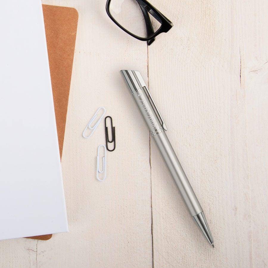 Individuellbesonders - Viva Pens Tess Kugelschreiber Linkshänder (Silberfarben) - Onlineshop YourSurprise