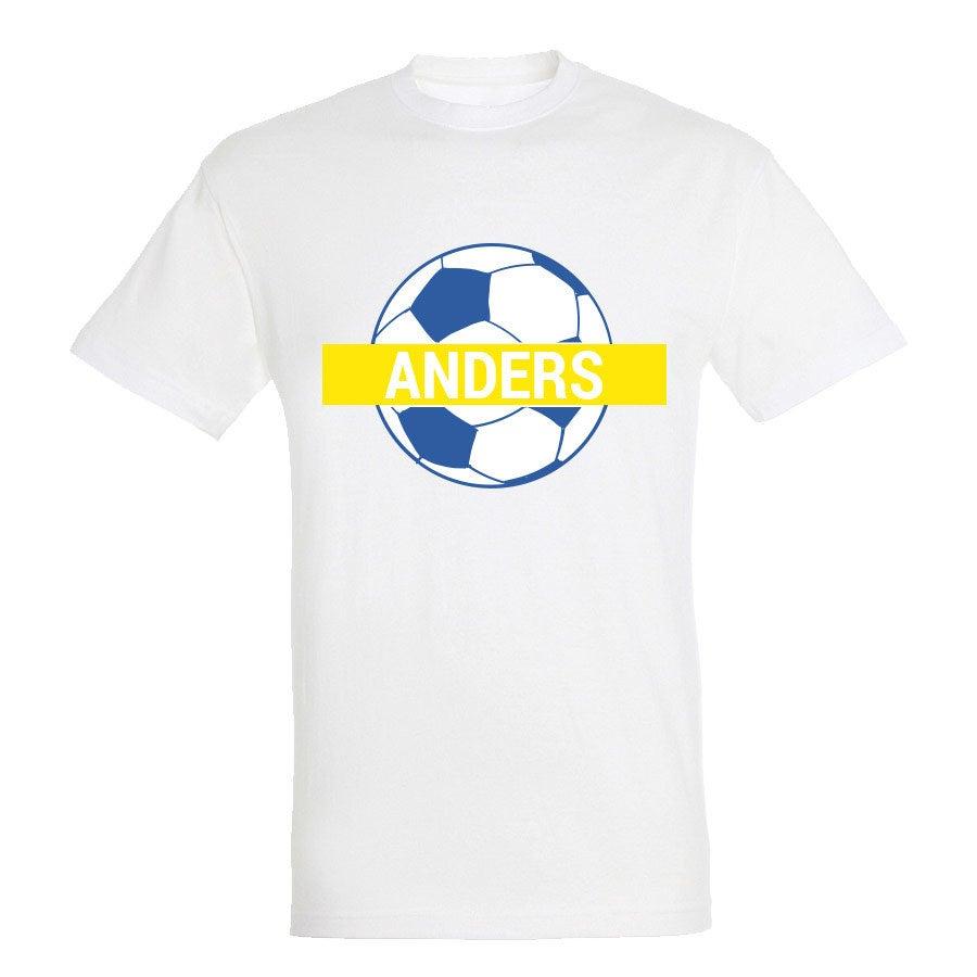 VM-t-shirt - Unisex - Vit - S