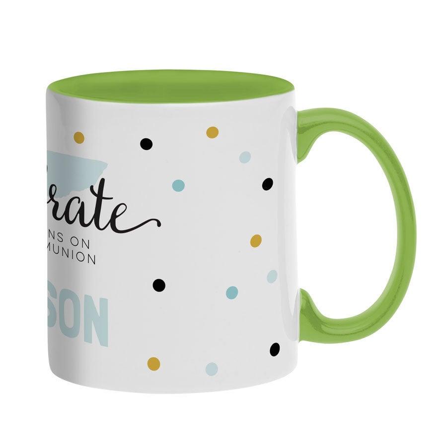 Name mug - Green