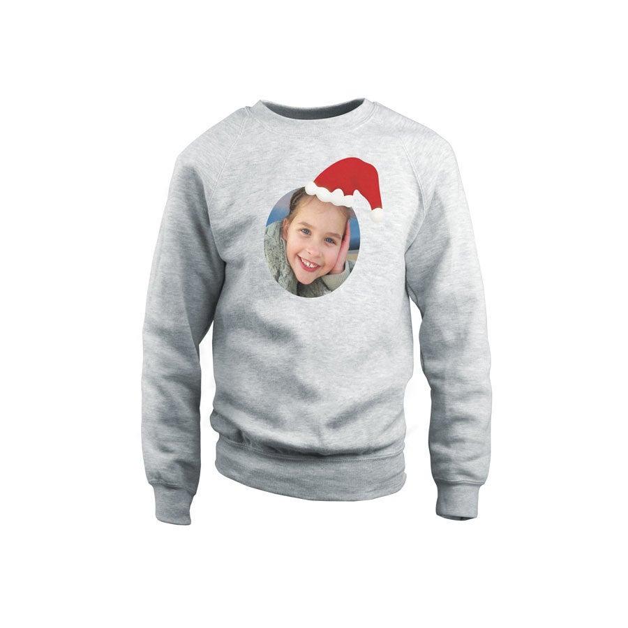 Dziecięcy sweter świąteczny