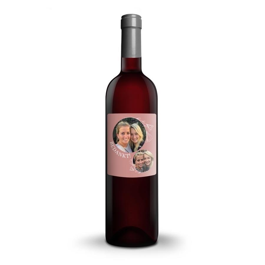 Wijn met bedrukt etiket - Ramon Bilbao Reserva