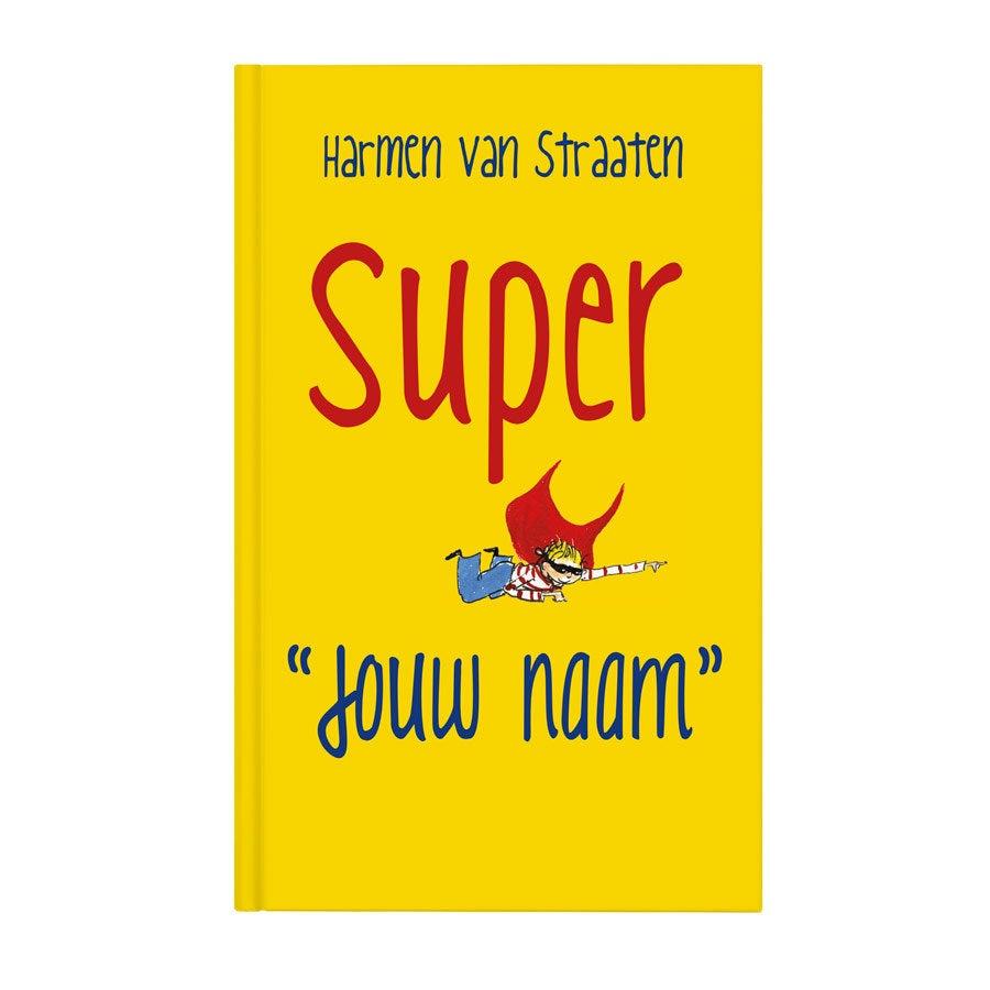 Boek met naam - Super Jan - Hardcover