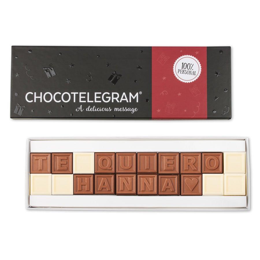 Telegrama de chocolate - 20 caracteres