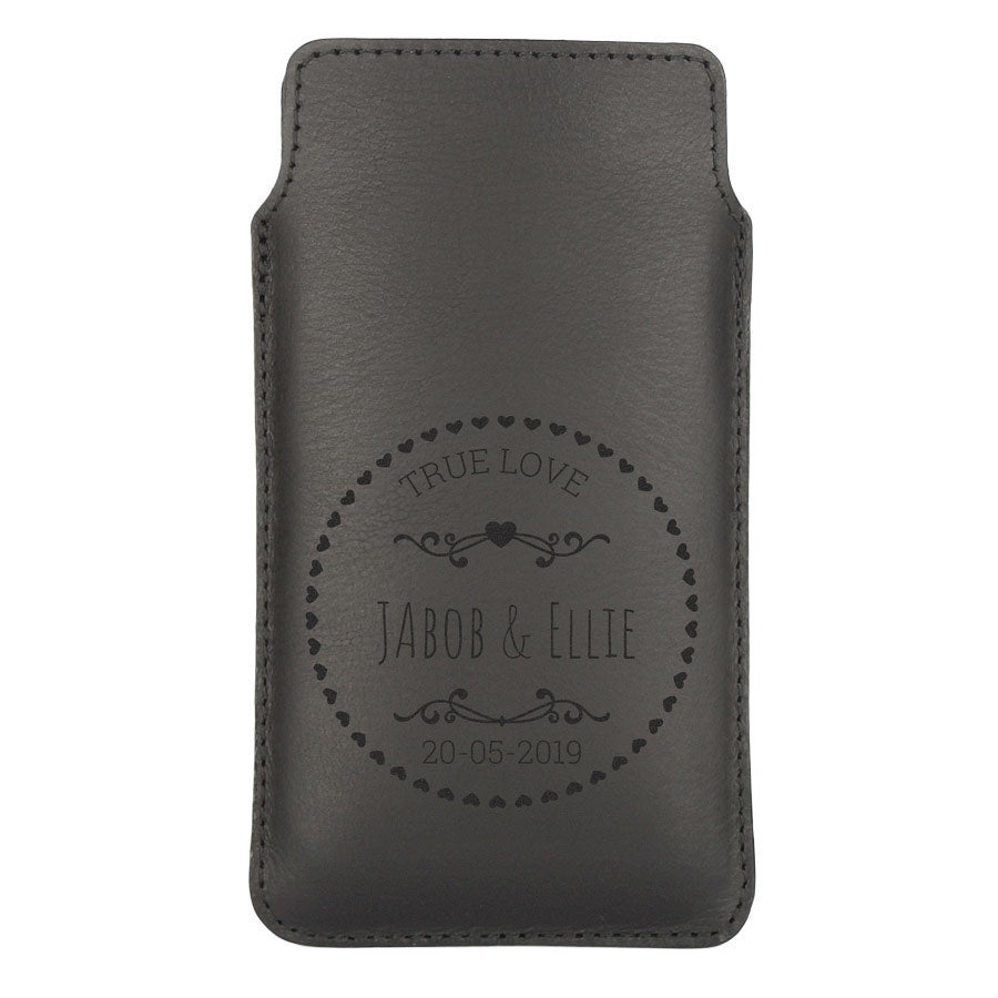 Leather phone case - XL