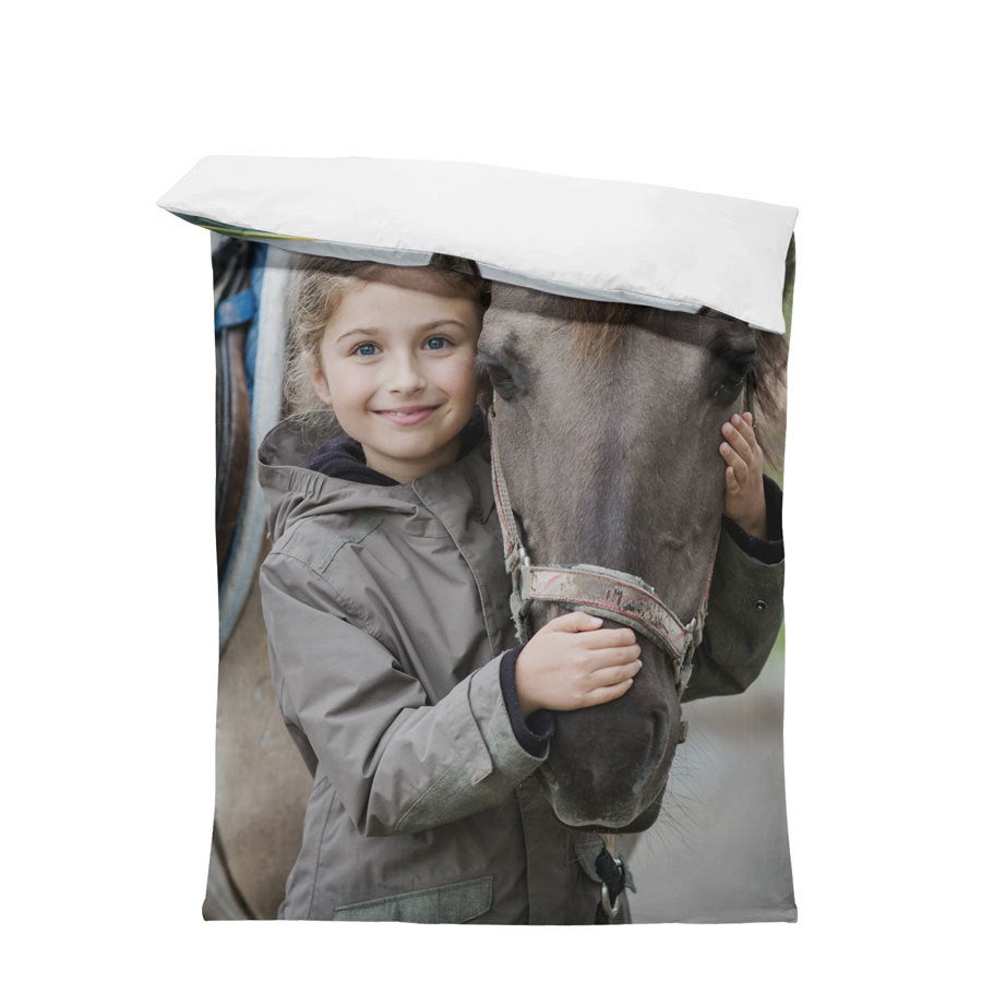 Dekbedovertrek - 140x200cm - Polyester
