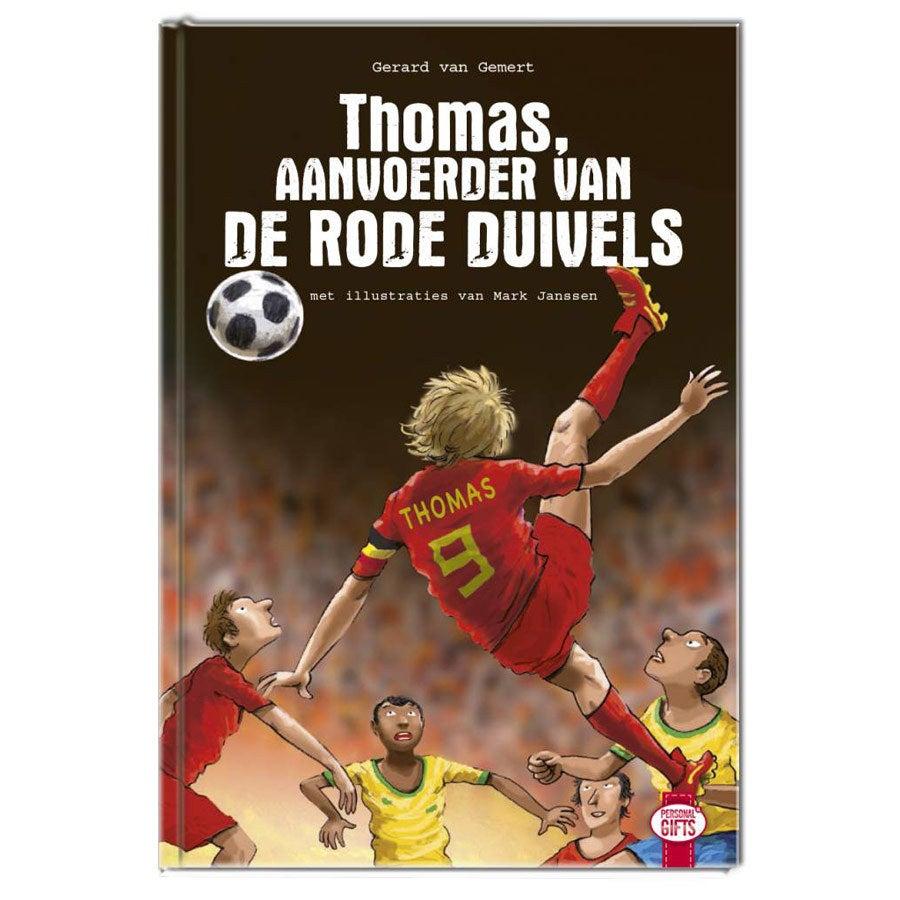 Aanvoerder van de Rode Duivels - WK - Hardcover