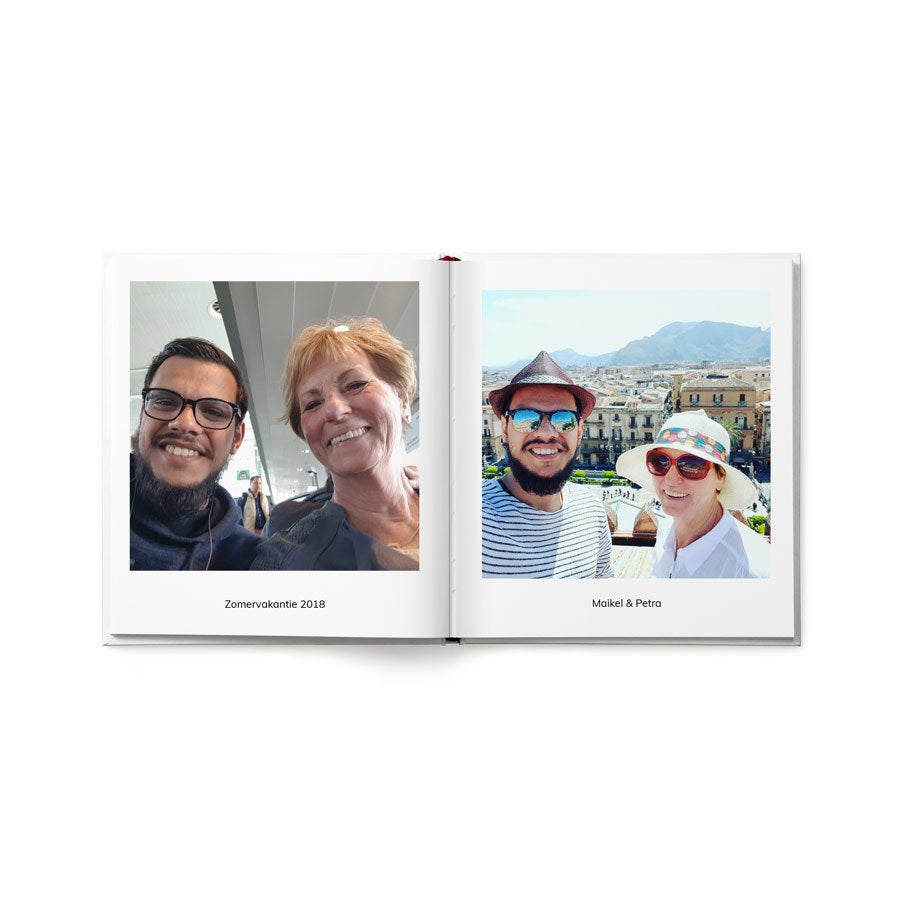 Fotoalbum - M - Hardcover - 40 pagina's