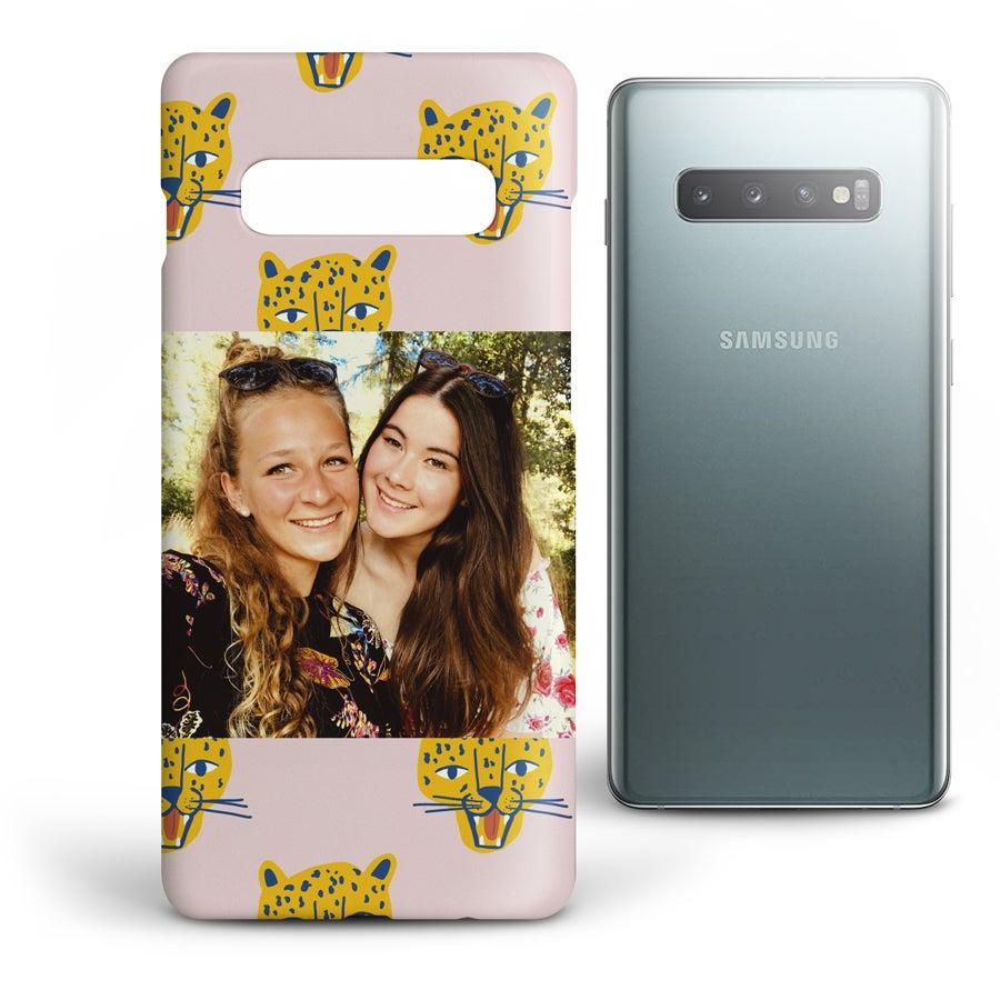 Personlig mobildeksel - Samsung Galaxy S10 Plus - Heldekkende trykk