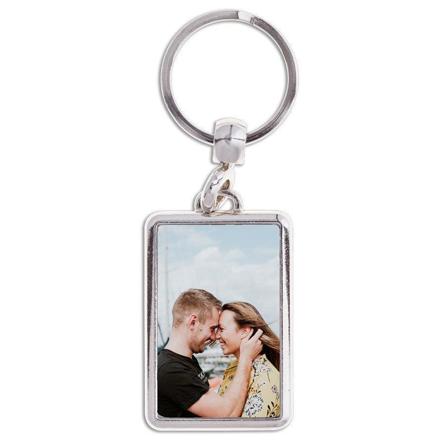 Porte-clé avec photo - Rectangulaire