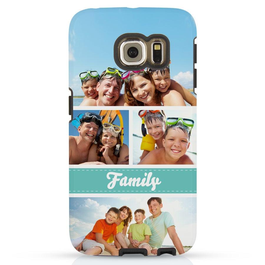 Puhelinlaukku - Samsung Galaxy S6 -reuna - Kova tapaus