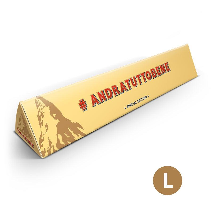 Barretta di cioccolato Toblerone - 360 grammi