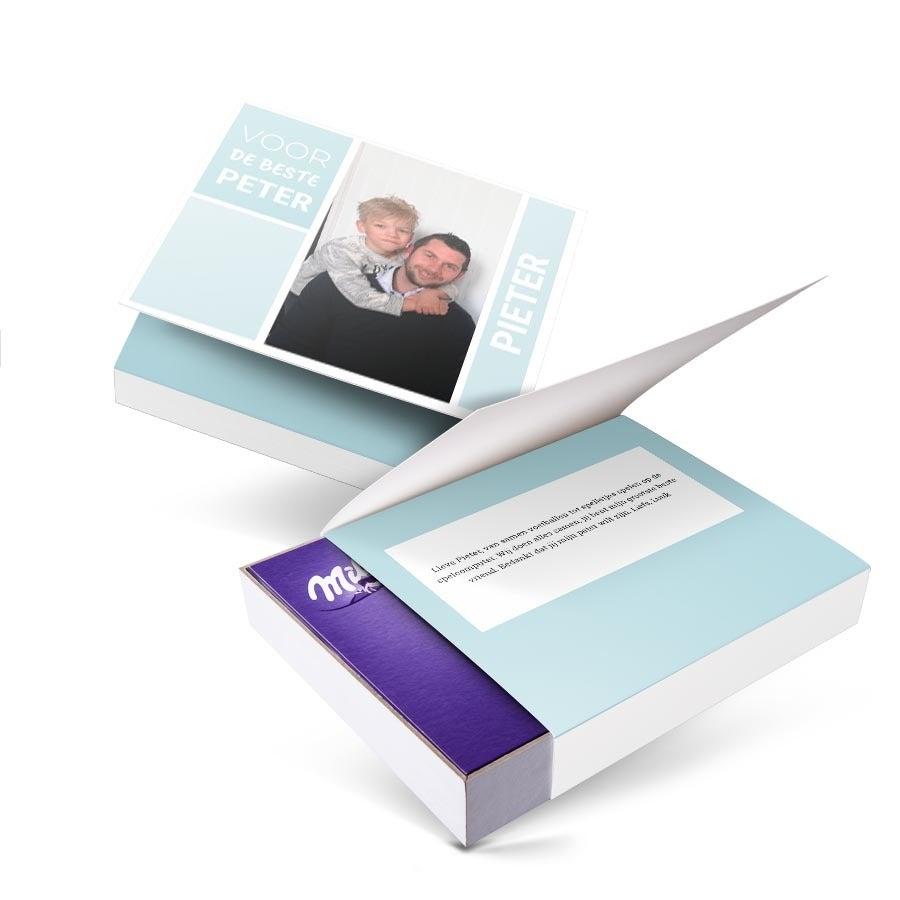 Milka giftbox bedrukken - Peter - 220 gram