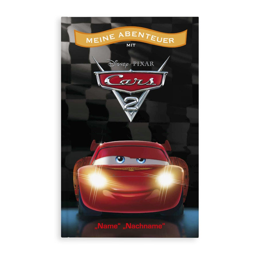 Buch mit Namen  - Disney - Cars 2