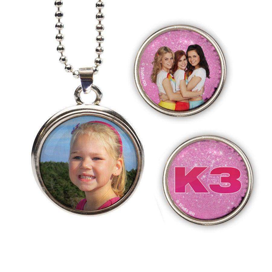 Click Ketting - K3 (roze set)
