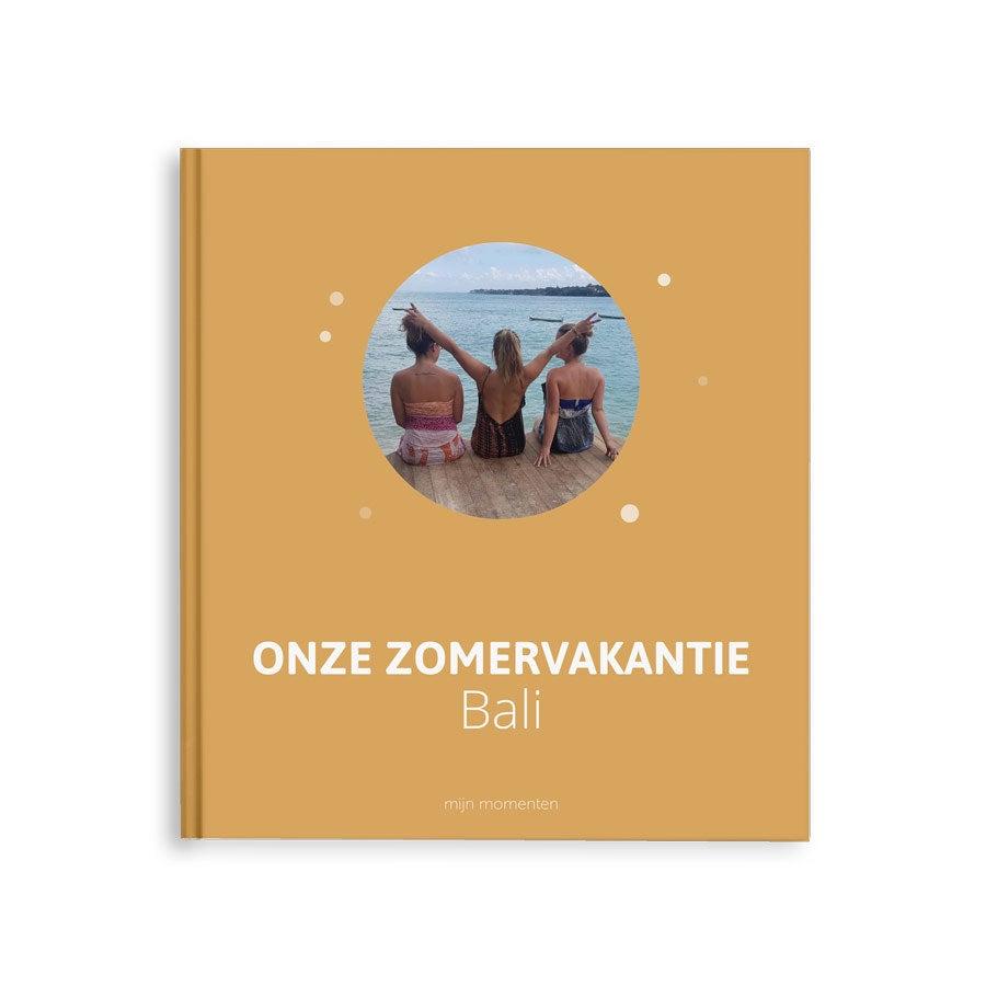 Fotoboek - Onze zonvakantie - M - Hardcover - 40 pagina's