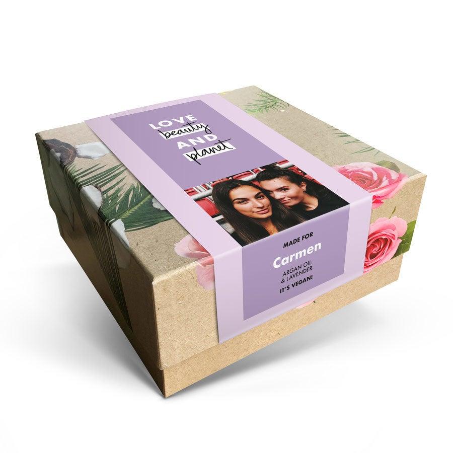 Love, Beauty & Planet geschenkset - Argan Oil & Lavender