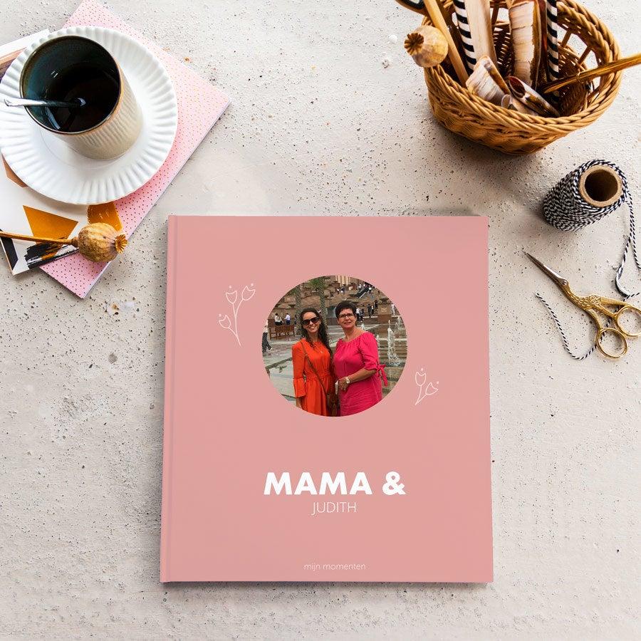 Momenten fotoboek - Mama & ik - M - Hardcover - 40 pagina's