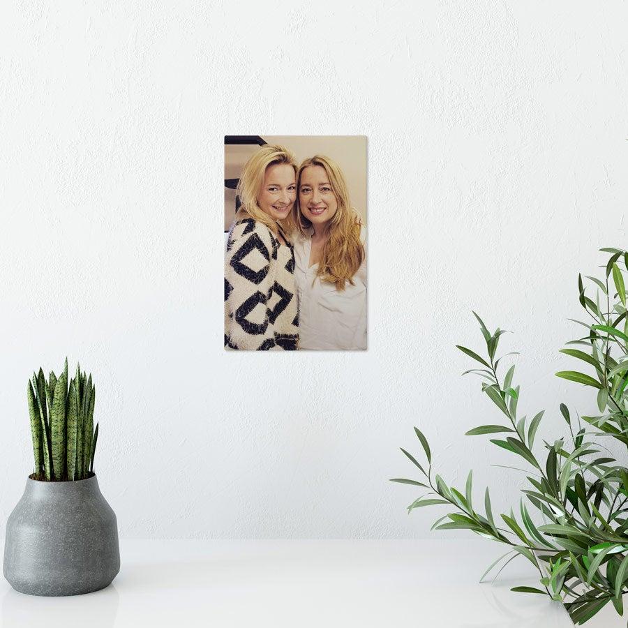 Foto op aluminium afdrukken - Wit (ChromaLuxe) - 10 x 15 cm