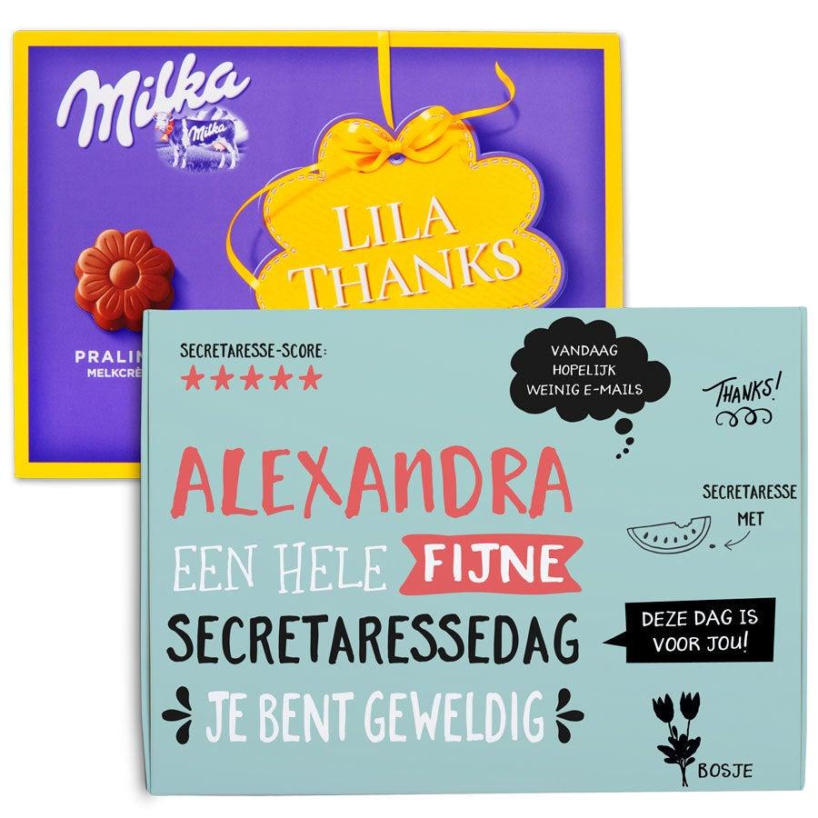 Chocobox - I love Milka! - Secretaressedag