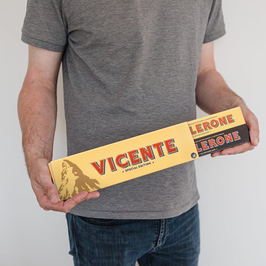 Toblerone Personalizado XL com nome e foto - edição Business