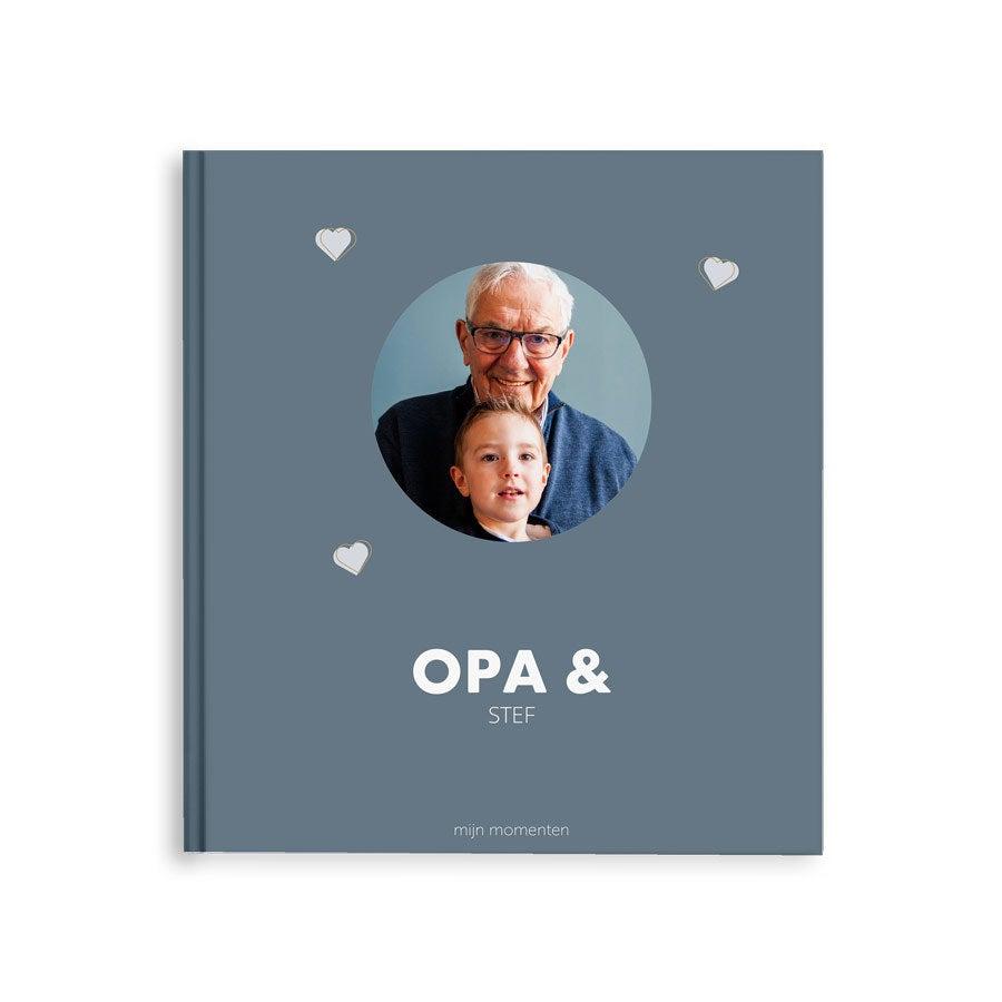 Momenten fotoboek - Opa & ik/wij - M - Hardcover - 40 pagina's