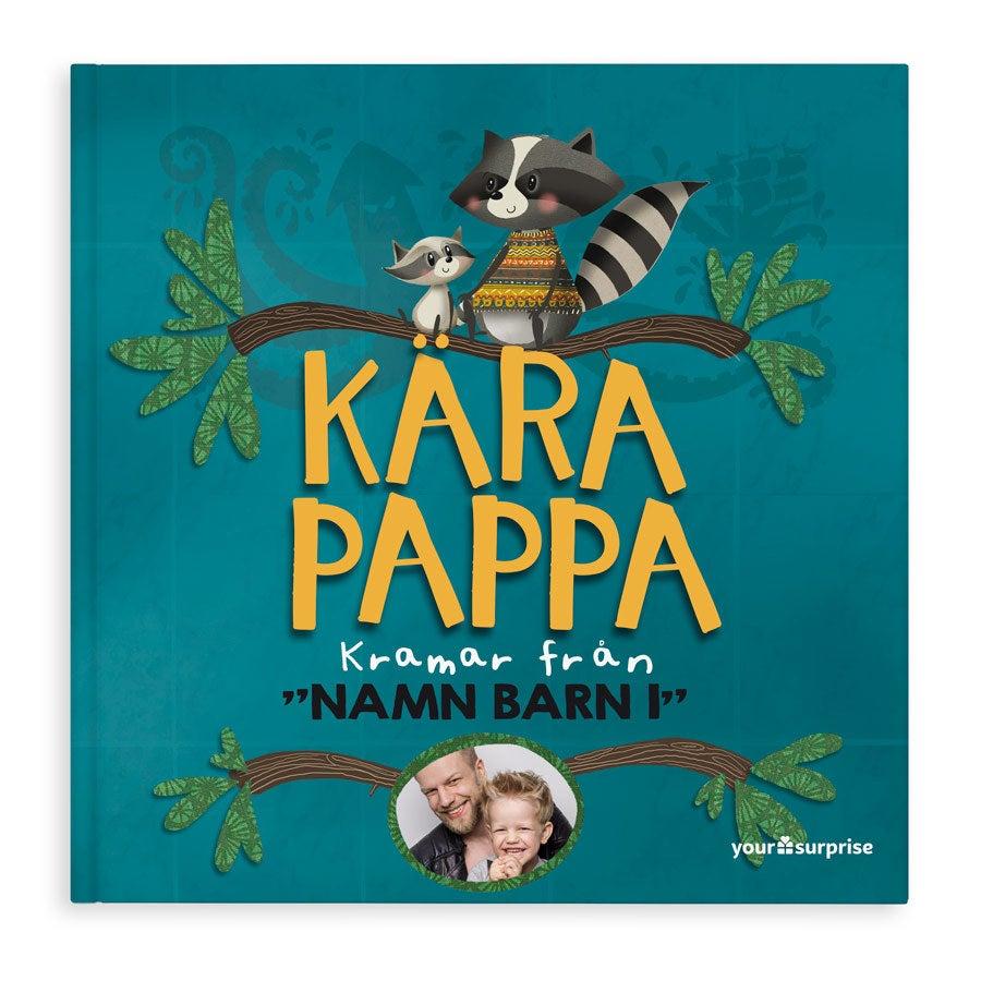 Bok med namn - Kära Pappa - Hardcover