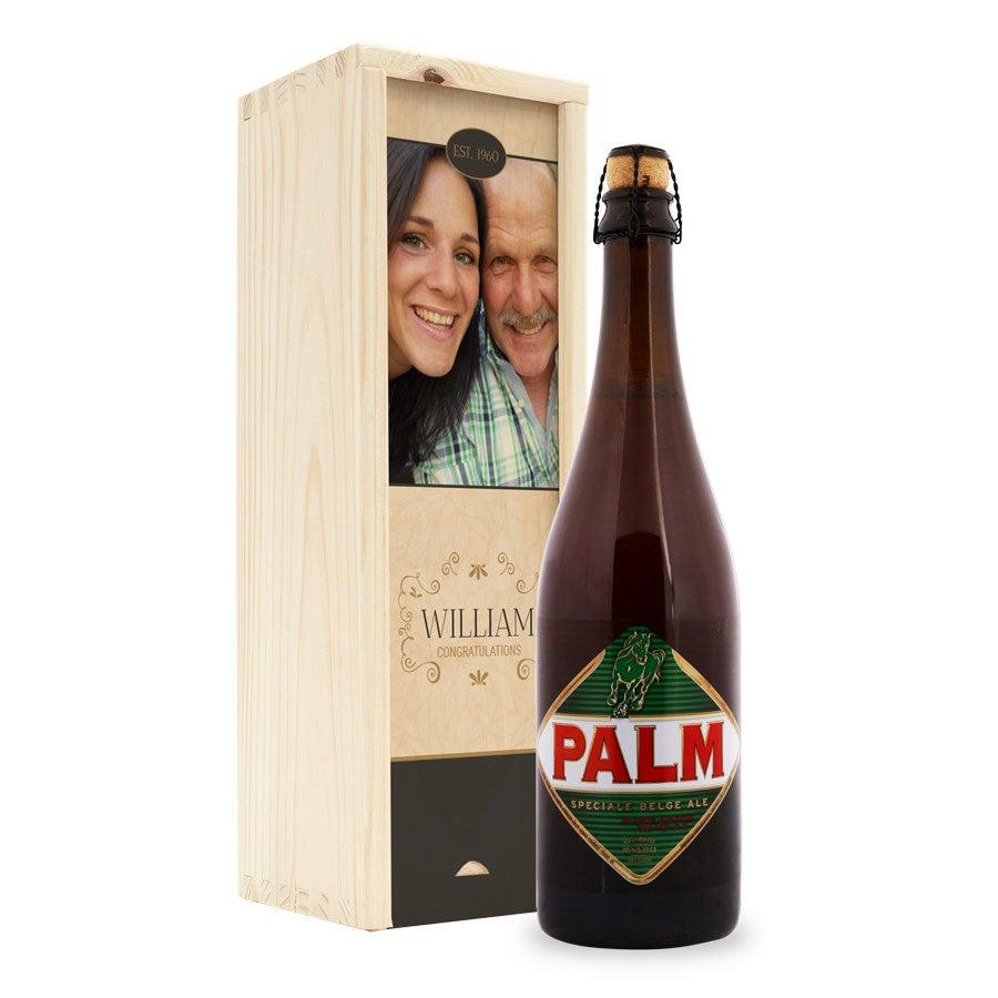 Cerveja de palma - caixa personalizada