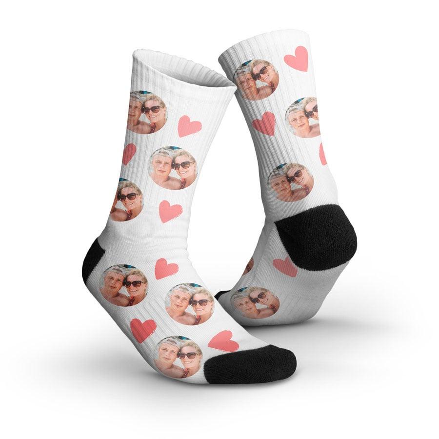Ponožky s potla�ou - 35-38