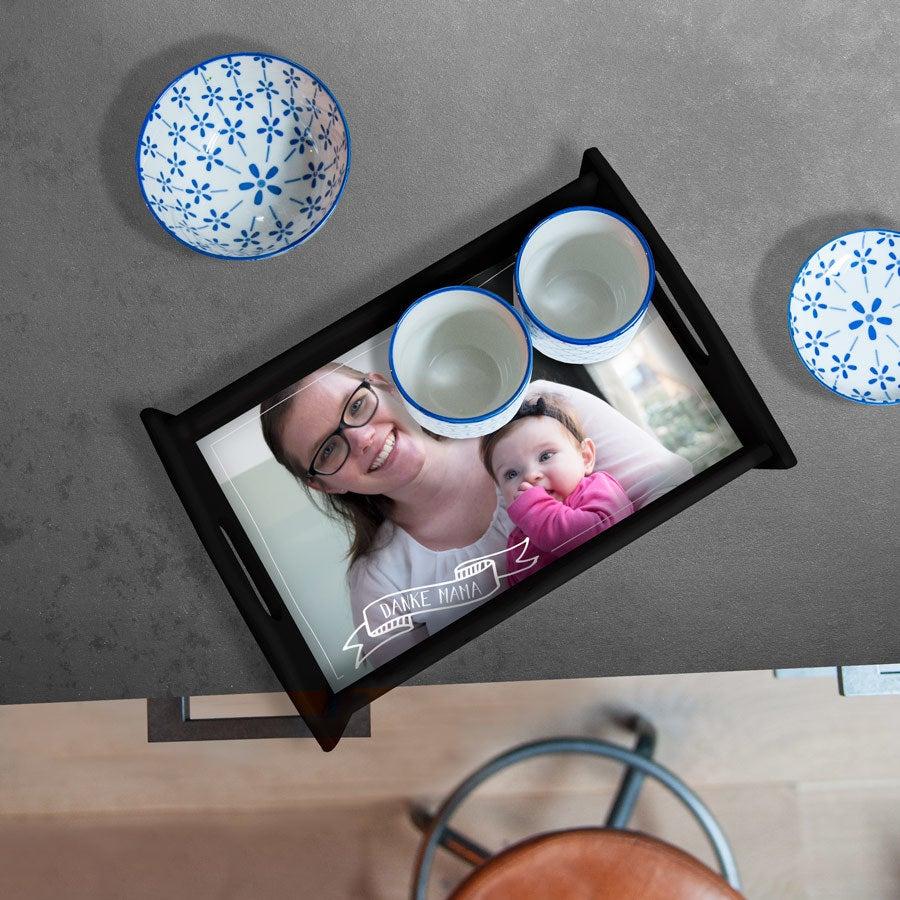 - Tablett Muttertag Schwarz Medium - Onlineshop YourSurprise