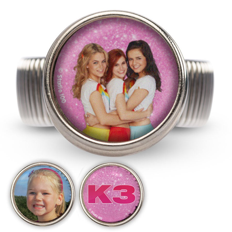 Click Ring - K3 (roze set)