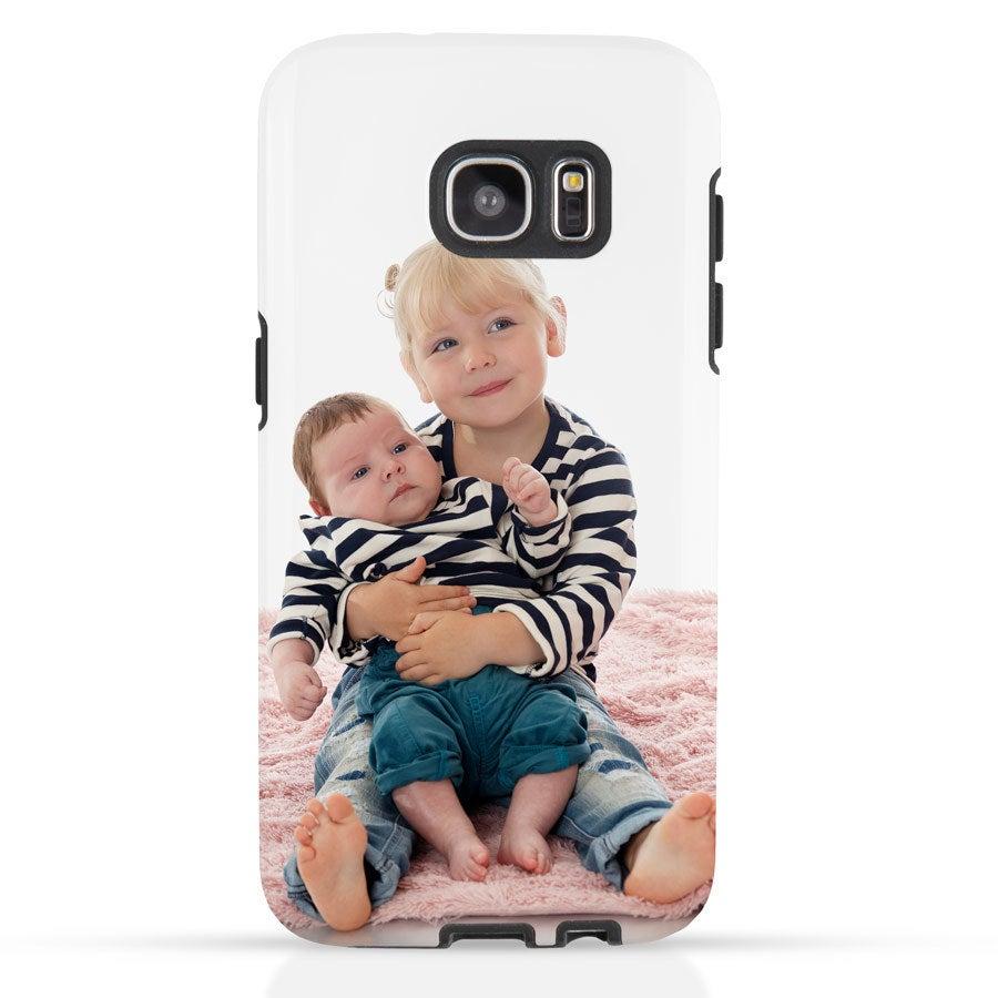 Handyhüllen - Samung Galaxy S7 Edge Hülle -  Tough Case