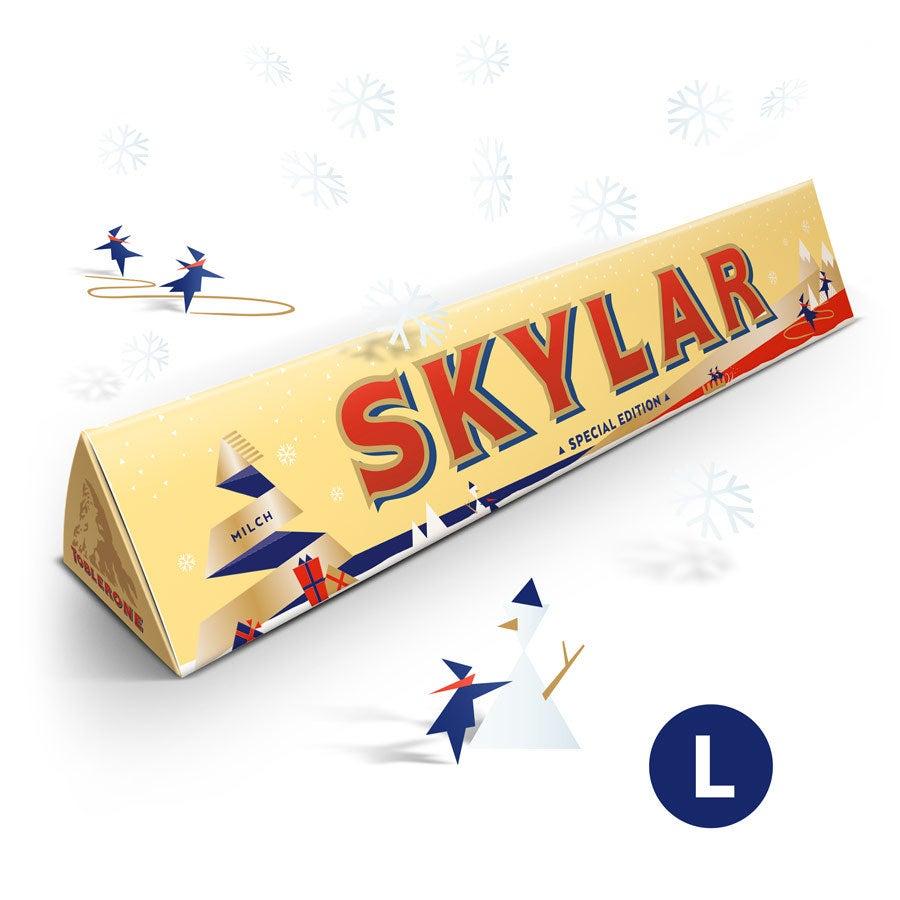 Toblerone chocolate bar - Christmas - 360 grams